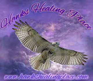 Hawks Healing Place button
